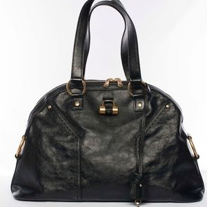 Authentic YSL Yves Saint Laurent Muse Tote (Large)